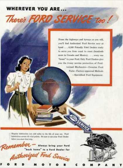 "Ford Service ""Wherever You Are"" Car (1947)"