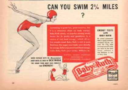 Baby Ruth Candy Bar – Candy is Delicious Food (1939)