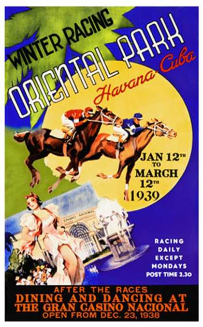 Winter Racing, Oriental Park, Havana (1939)