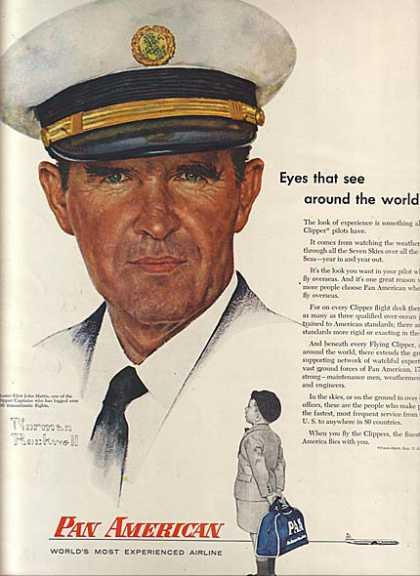 Pan American's Norman Rockwell (1956)