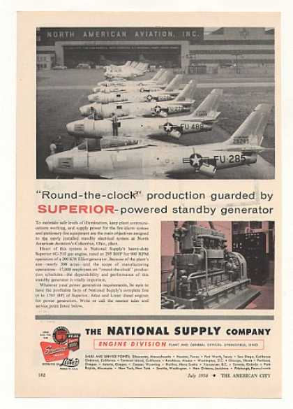 North American Aviation Columbus Plant Superior (1954)