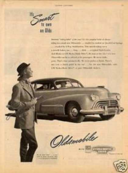 Oldsmobile Car (1947)
