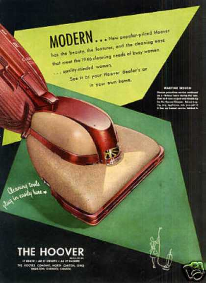 Hoover Vacuum Cleaner (1946)