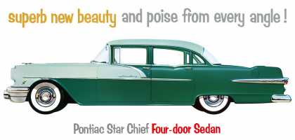 Pontiac Star Chief in Hialeah Green-Glendale Green (1956)