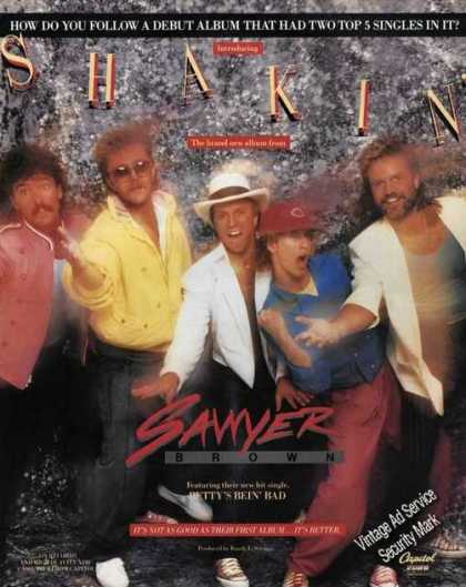 Sawyer Brown Photo Shakin Album Promo (1985)