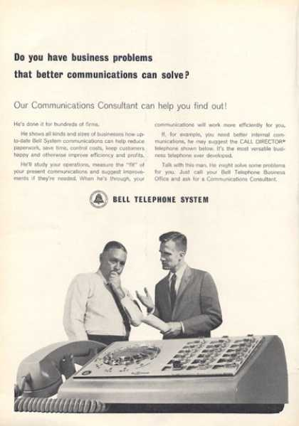 Bell Telephone System Multi Line Phone (1963)
