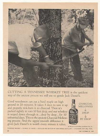Jack Daniel's Cutting Tennessee Whiskey Tree (1963)