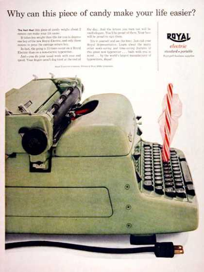 Royal Electric Typewriter (1956)