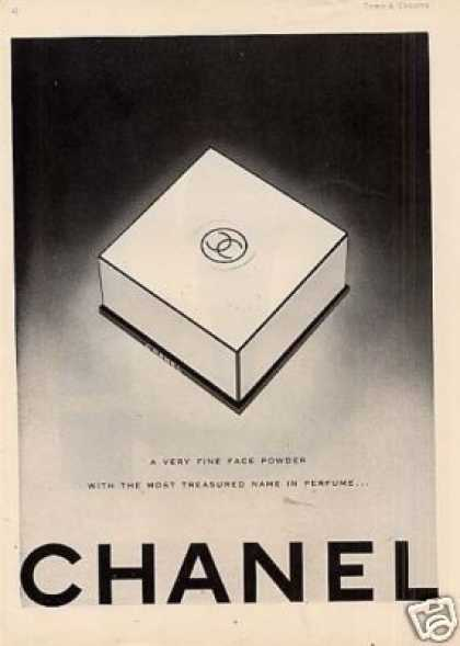 Chanel Face Powder (1946)