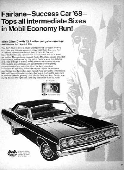 Ford Fairlane Mobil Run (1968)
