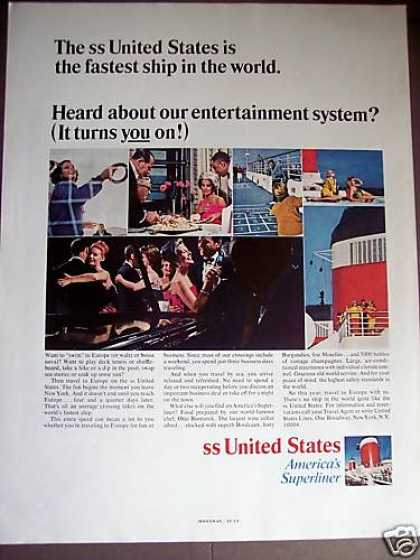 Ss United States Superliner Cruise Ship (1966)