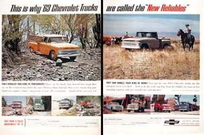 Chevrolet Pickup Trucks (1963)