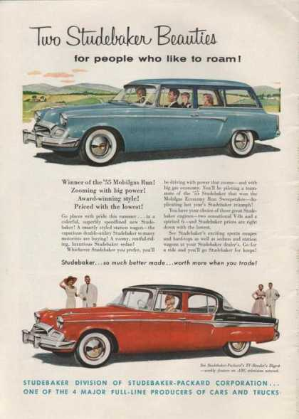 Studebaker Beauties Car (1955)