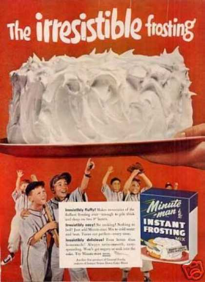 Minute Man Frosting (1955)