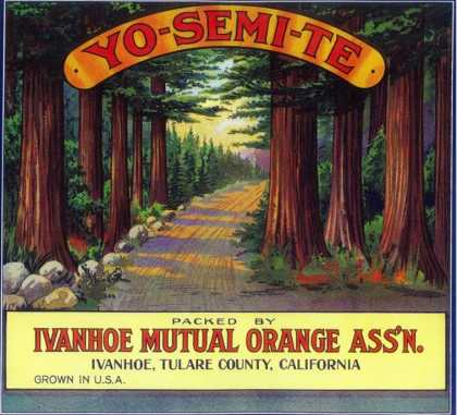 Yosemite Orange Label – Ivanhoe, CA
