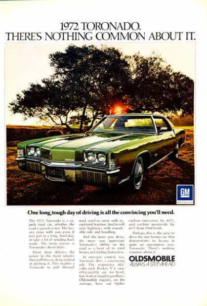 Oldsmobile Olds Toronado (1972)