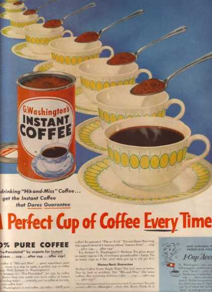 G. Washington's Instant Coffee (1953)