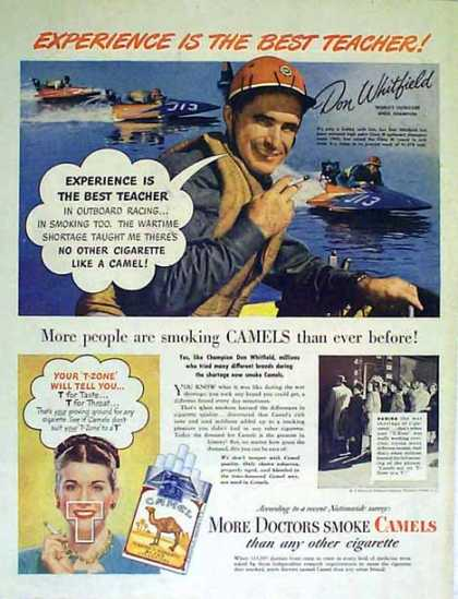 Camel Cigarettes – Don Whitfield – Sold (1947)