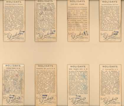 W. Duke Sons & Co.'s Duke's Cigarettes – Holidays – Image 4