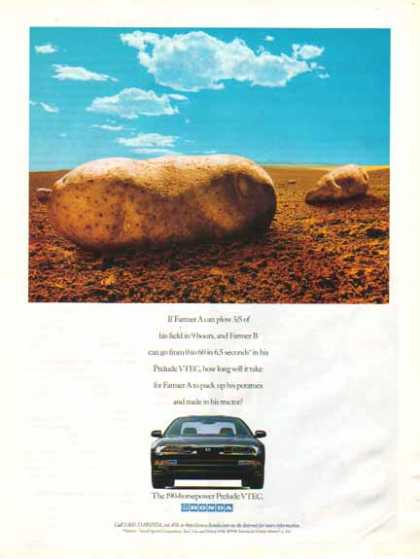 Honda Prelude VTEC Car – Potato Farmer (1995)