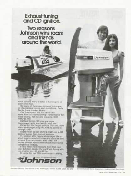 Johnson Outboard Motor Water Ski (1972)