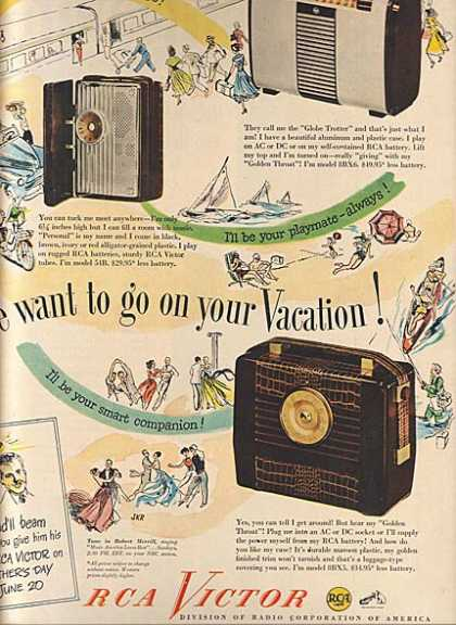 RCA Victor's go wherever you go (1948)