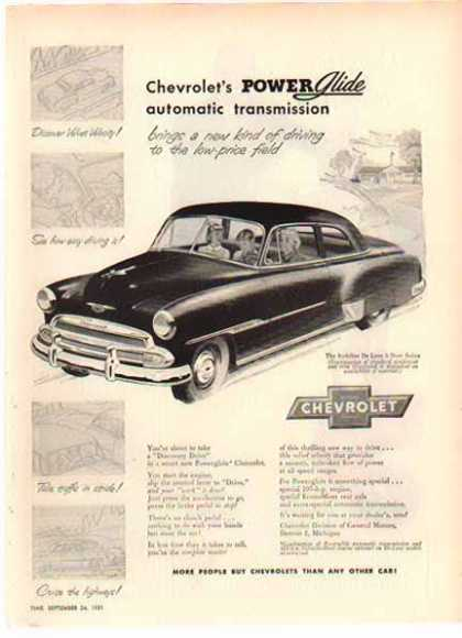 Chevrolet Styleline De Luxe Sedan Car – Sold (1952)