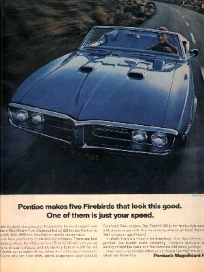 General Motor's Pontiac Firebird (1967)