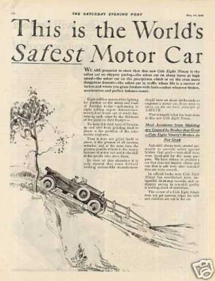 Cole Car Ad 2 Page (1922)