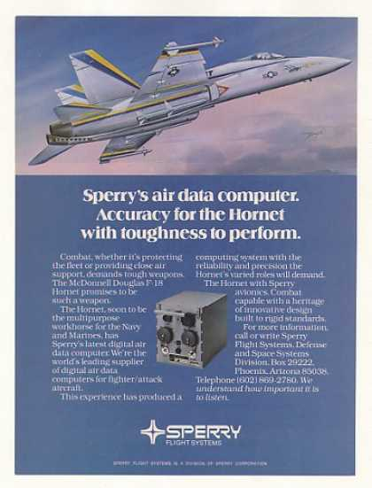 Douglas F-18 Hornet Sperry Air Data Computer (1980)