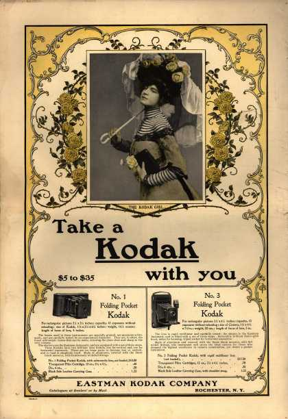 Kodak &#8211; Take a Kodak with you (1901)