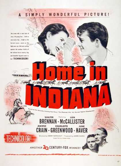 """Home in Indiana"" (1944)"