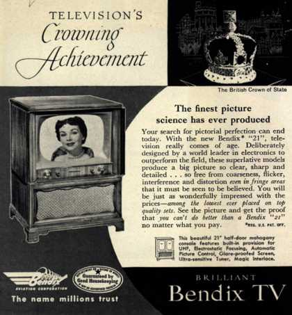 Bendix Aviation Corporation's Television – Television's Crowning Achievement (1952)