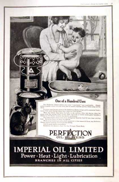 Perfection Oil Heaters (1919)