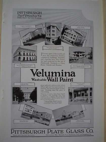 Pittsburgh Plate Velumina Paint AND Seeger Refrigerators (1926)