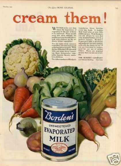 Borden's Evaporated Milk (1923)