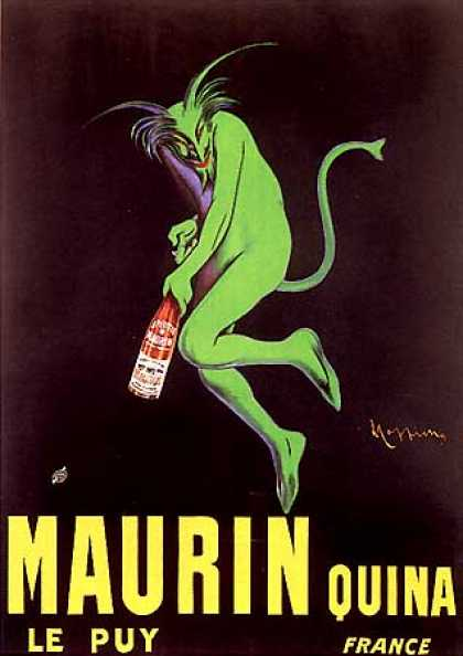 Maurin Quina by Leonetto Cappiello (1906)