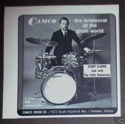Fifth Dimension – Terry Clarke – Camco Drums (1968)