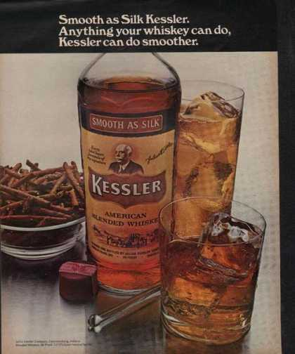 Kessler Whiskey Smooth As Silk (1970)