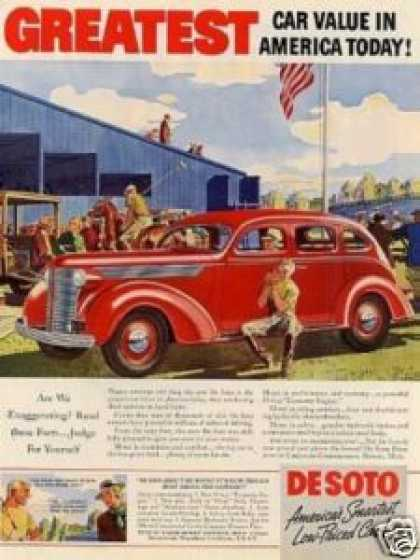Desoto Car Color (1938)