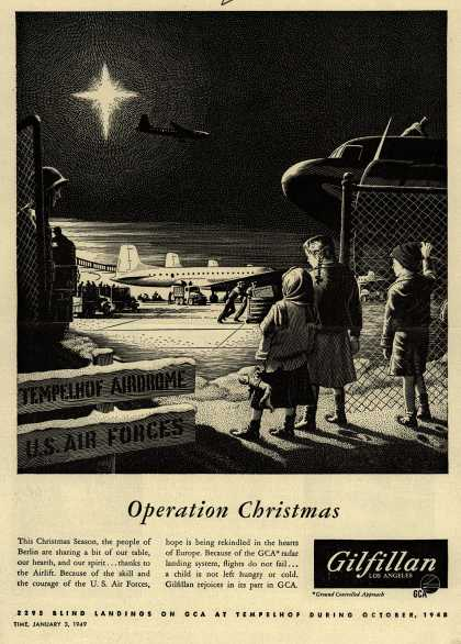 Gilfillan's Radar Landing System – Operation Christmas (1949)