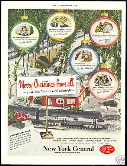 New York Central Train Railroad (1950)