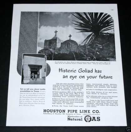 Old , Houston Pipe Line, Goliad (1948)