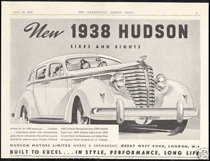 Hudson Motor Limited Car Built To Excel UK (1938)