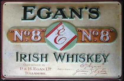 Egan´s No.8 Irish Whiskey