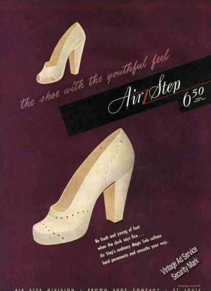 Air Step Womens By Brown Shoe St. Louis (1944)