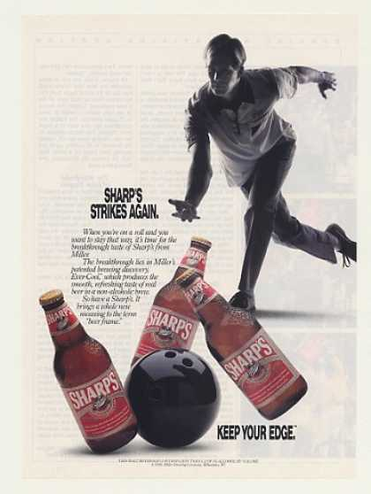 Miller Sharp's Beer Bottles Bowling (1991)