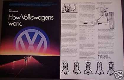 How Volkswagens Work Vw Car (1982)