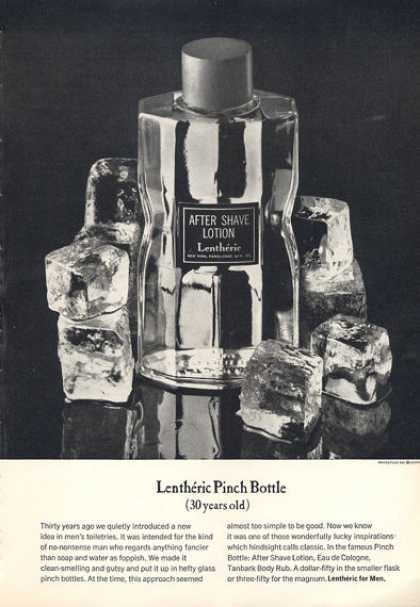 Lentheric Pinch Bottle After Shave (1963)