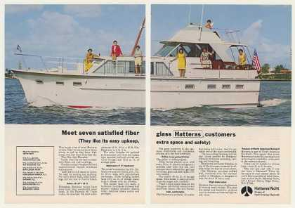 Hatteras Yacht 44' Triple Cabin Boat Photo (1969)